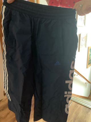 Pantalon semi largo