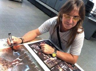 Vinilo Adrián Barilari autografiado.
