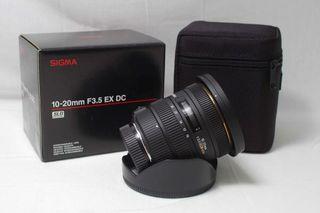 sigma 10-20mm f3'5 EX DC HSM para SONY ALPHA A