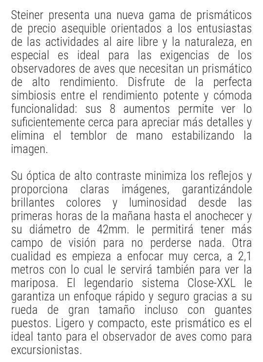 prismaticos STEINER.