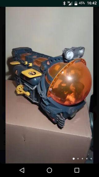 submarino action man y muñeco