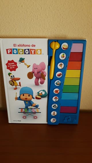Libro con xilófono y sonido Picoyo