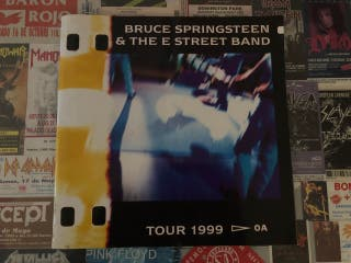 Tour book Bruce Springsteen