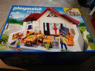 escuela playmobil