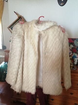abrigo piel auténtica