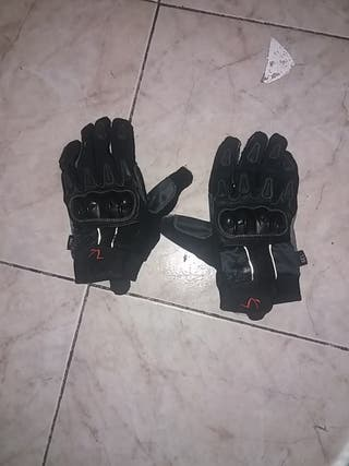 guantes de motorista