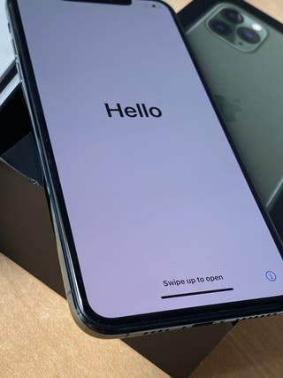 iPhone 11 pro Max 64gb verde