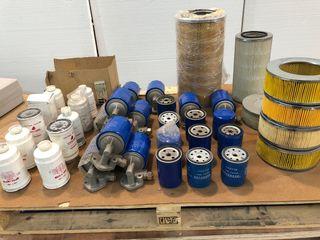 Lote de filtros de aceite, gasolina y aire nuevos