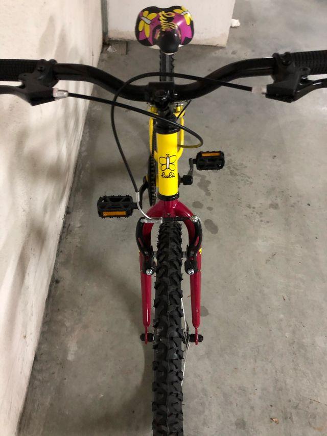 Bicicleta niña lulu