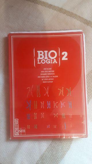 Libro Biología 2º bachillerato