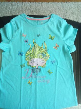 Lote 6 camisetas + 1 vestido