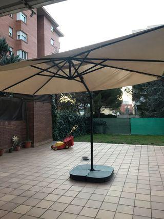 Para-sol sombrilla jardí Ikea