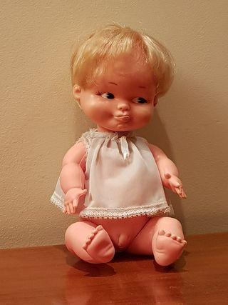 Muñeco Balín de Famosa sexado niño. Años 70