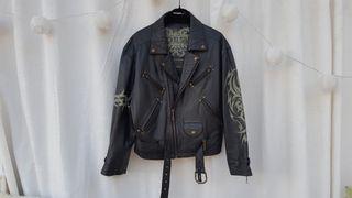 PVP 490 NICKELSON chaqueta chupa piel TALLA L