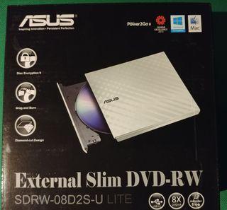 Grabadora externa de DVD ASUS SDRW-08D2S-U LITE