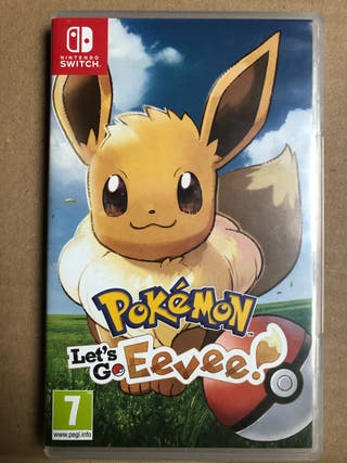 POKEMON LETS GO - NINTENDO SWITCH