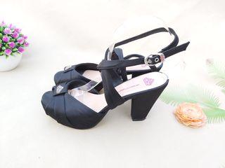 Fornarina sandalias de tacón negro Talla 38