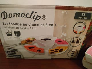 set de fondue de chocolate