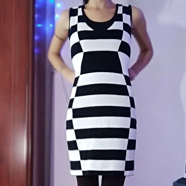 vestido ajustado