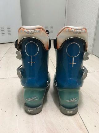 Bota esquí alpí dona