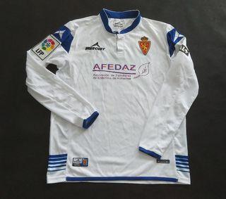 camiseta match worn zaragoza Angelo henriquez