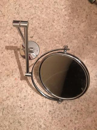 Espejo de aumento para baño