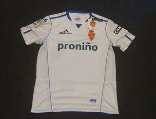camiseta real Zaragoza Mercury etiquetas 2013 m