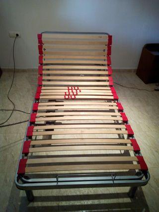 cama articulada somier posiciones