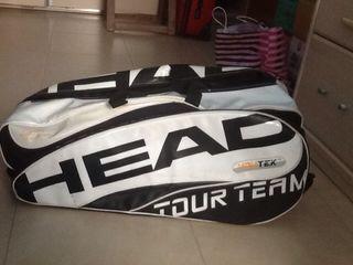 Bolsa raquetero de tenis
