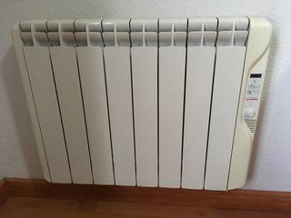 Emisor térmico de calor azúl gabarrón digital