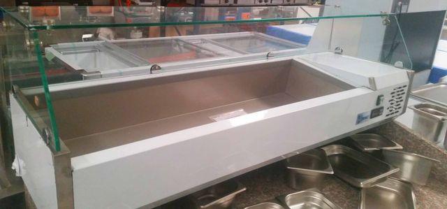 vitrina de ingredientes