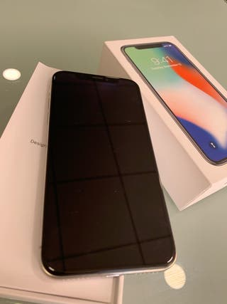 iPhone X 64gb plata