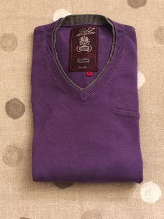Jersey lila talla S hombre celio