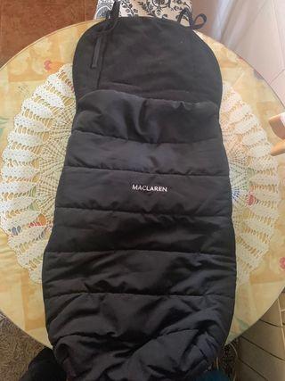 funda silla maclaren negra