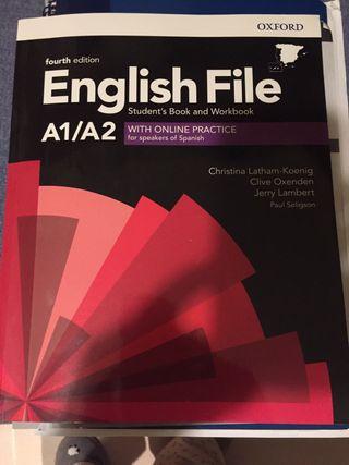 English File A1A2 editorial Oxford.