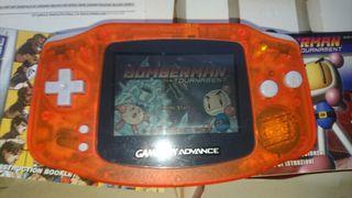 Gameboy Advance + 2 juegos