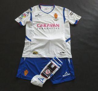 camiseta zaragoza match worn 2015 eldin kit