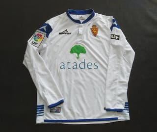 camiseta match worn real Zaragoza atades 2014