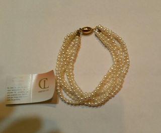 Collar y Pulsera de Perlas