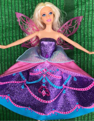 Muñeca barbie mariposa Hada