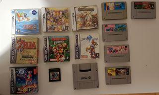 videojuegos retro, Snes, Game boy.