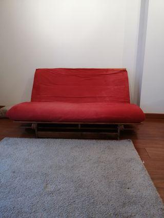 futón algodón prensado