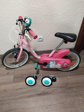 Bici + Patinete niña