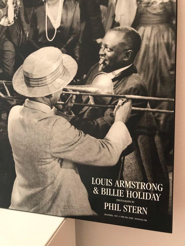 Cuadro de Louis Amstrong