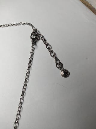 cadena y colgante acero