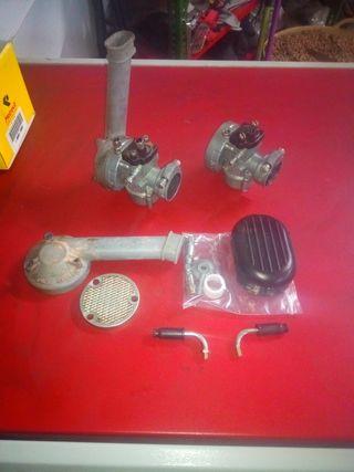 2 Carburadores Vespino y accesorios