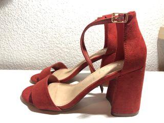 Sandalias rojas MaryPaz