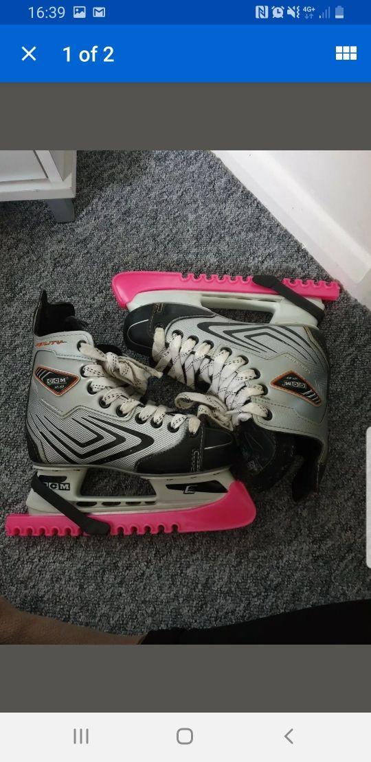 ice hockey boots size 3