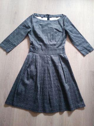 Vestido de BLANCO gris S 36