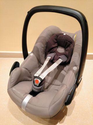 Maxicosi silla coche Pebble Bebe Confort 0+